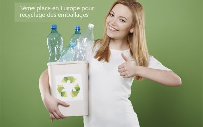 Brava Italia! We are third in Europe in packaging recycling