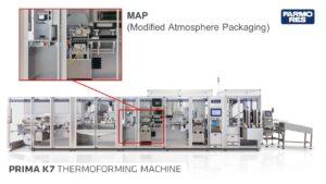 Termoformatrici Farmo Res con tecnologia MAP