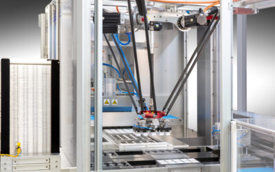 Integrating robots into packaging machines and lines